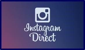 que es Instagram Direct