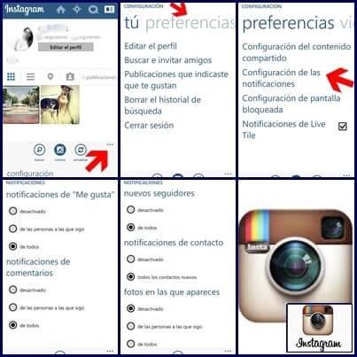 como configurar privacidad en instagram
