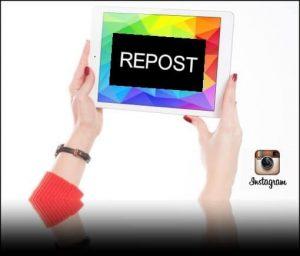 hacer Repost en Instagram