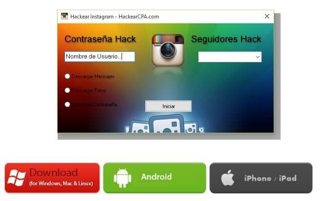 como hackear una cuenta de instagram sin programas