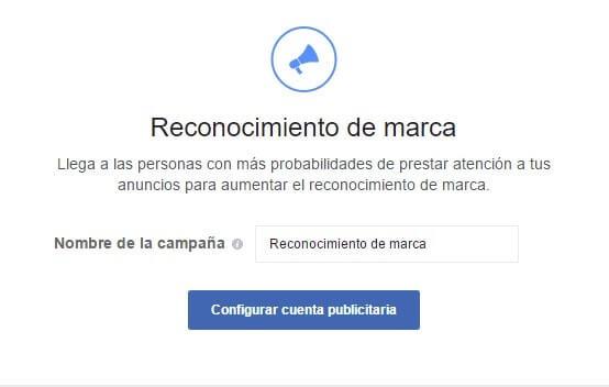 configurar cuenta publicitaria en instagram