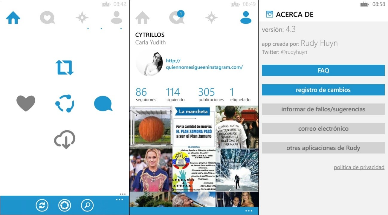 app 6 tag instagram