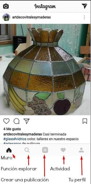 perfil básico de instagram