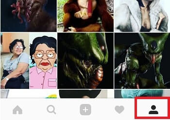 perfil icono
