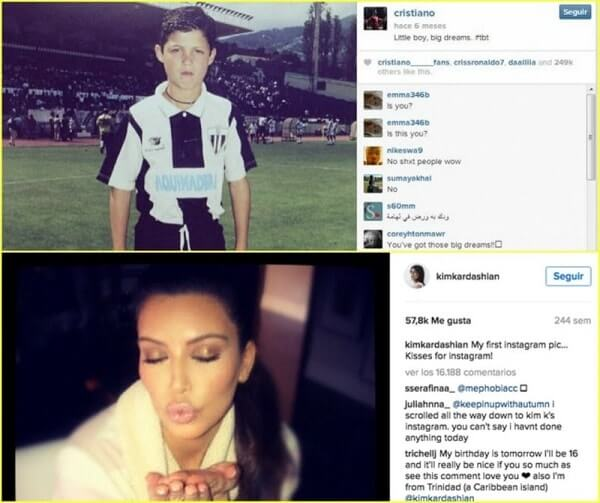 cuentas de famosos en instagram