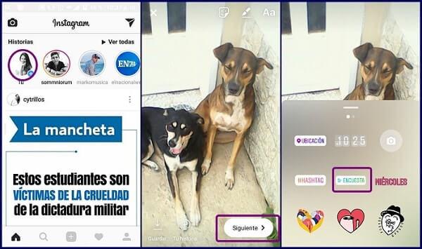 encuesta stories 1