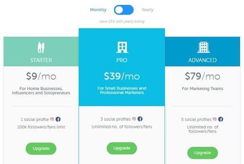 precios de la app