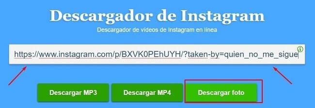como descargar imagenes de instagram