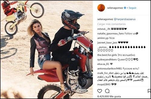 selena gomez la mas seguida en instagram