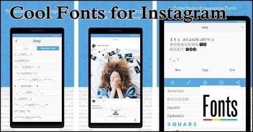 Cool Fonts para Instagram