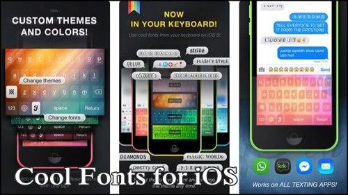 Cool Fonts para iOS
