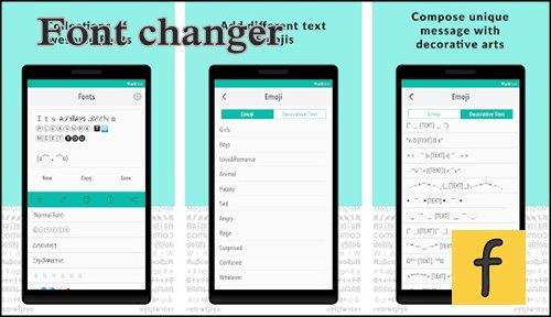 Font changer. cambiar letras en Instagram