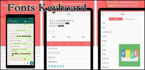 Fonts Keyboard. Letras para Instagram