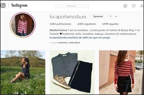 Instagramer de moda