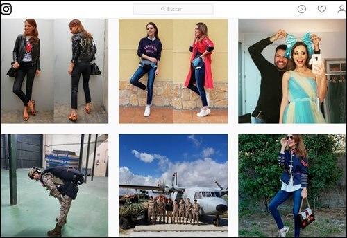 Influencer de moda