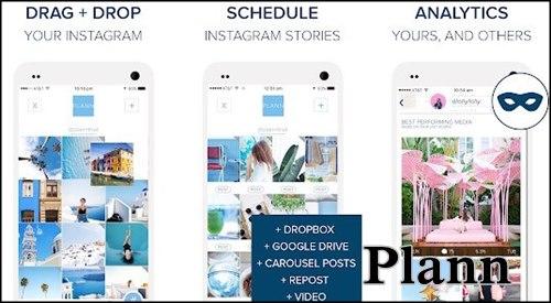 Plann แอพไปยังโปรแกรม Instagram