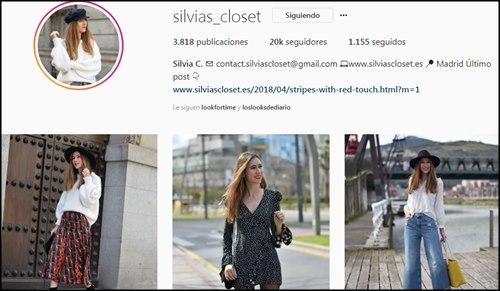Perfiles de moda en Instagram