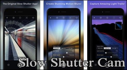 Slow Shutter Cam บันทึกแสงและการเคลื่อนไหว