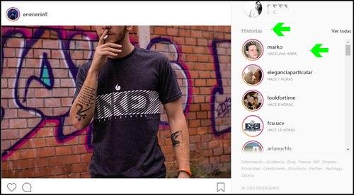 Instagram version web