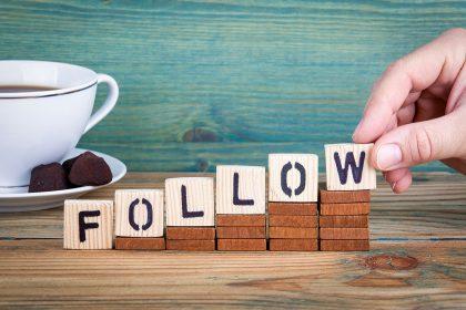 Eine Liste der Follower erhalten