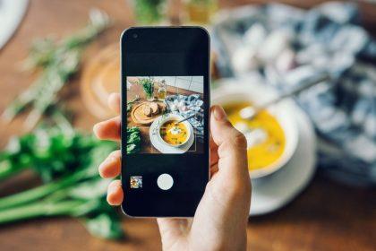 instagram nell'industria alimentare