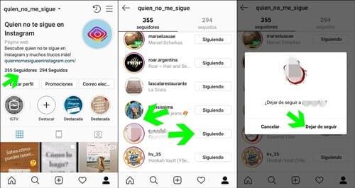 Bloquear en Instagram paso a paso 1 de 2
