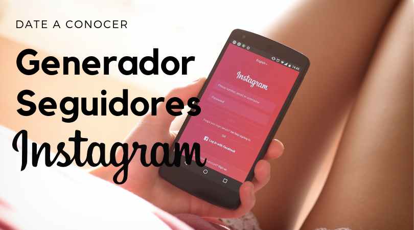 Generador de seguidores Instagram