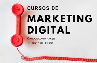 Curso de Marketing Digital, lo que puedes encontrar