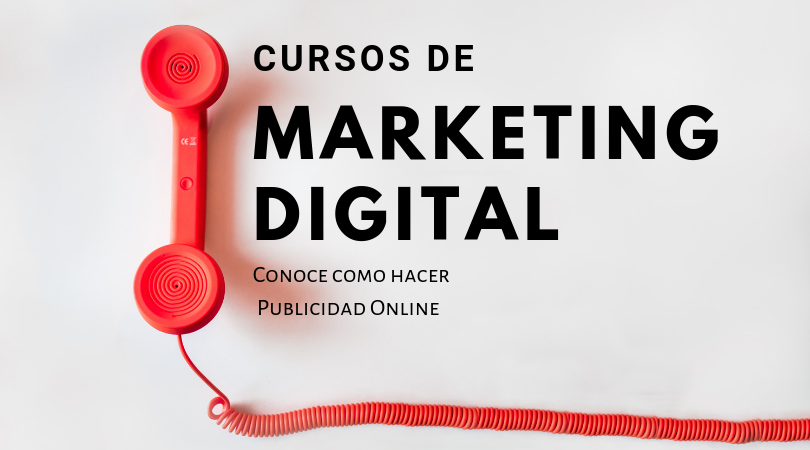 Curso de Marketing Digital, lo que puedes encontrar