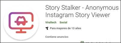 Story stalker ver historias Instagram