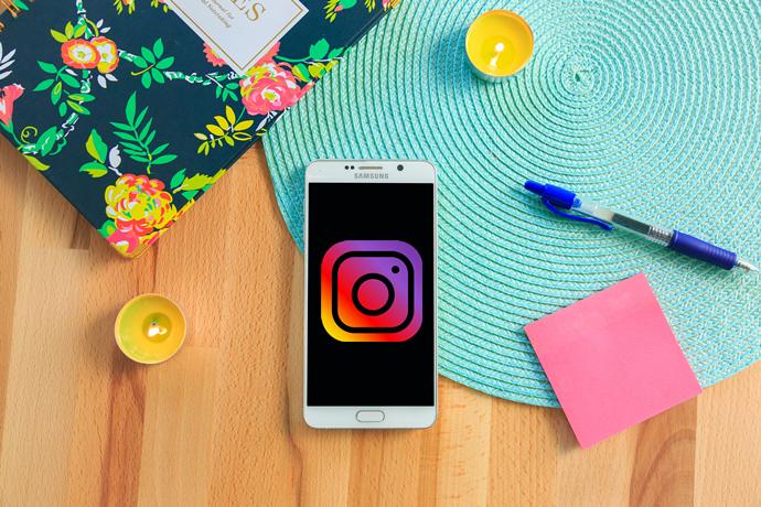 ajustes de la cámara Samsung para Instagram
