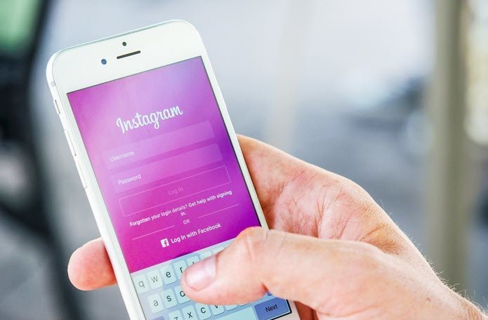 cómo borrar las sugerencias de búsqueda de Instagram