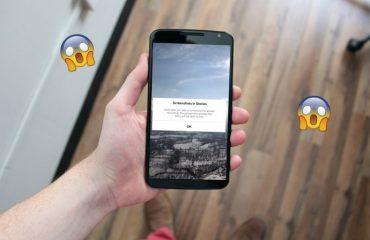 hacer captura de pantalla en Instagram