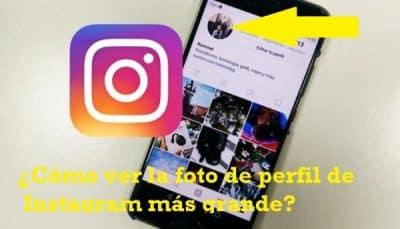 Como visualizar a foto 1 maior do perfil do Instagram